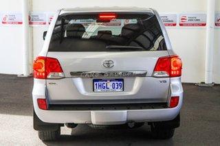 2014 Toyota Landcruiser VDJ200R MY13 GXL (4x4) Silver Pearl 6 Speed Automatic Wagon