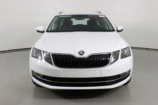 2019 Skoda Octavia NE MY19 110 TSI White 7 Speed Auto Direct Shift Wagon.