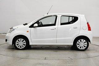 2012 Suzuki Alto GF GL White 4 Speed Automatic Hatchback.