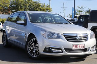 2016 Holden Calais VF II MY16 Sportwagon Silver 6 Speed Sports Automatic Wagon.
