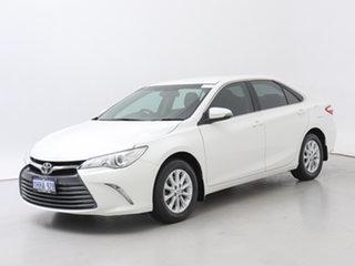 2015 Toyota Camry ASV50R MY15 Altise White 6 Speed Automatic Sedan.