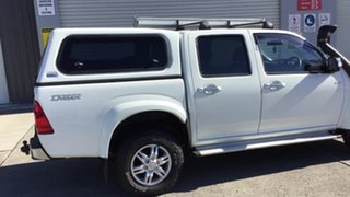 2011 Isuzu D-MAX MY11 LS-U White 4 Speed Automatic Utility.