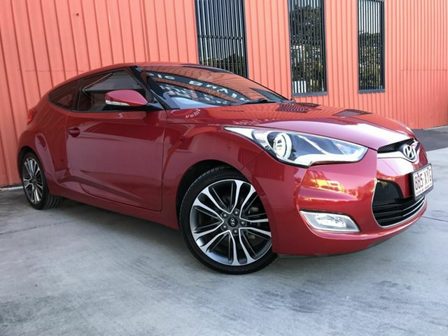 Used Hyundai Veloster FS5 Series II Coupe D-CT Molendinar, 2017 Hyundai Veloster FS5 Series II Coupe D-CT Red 6 Speed Sports Automatic Dual Clutch Hatchback
