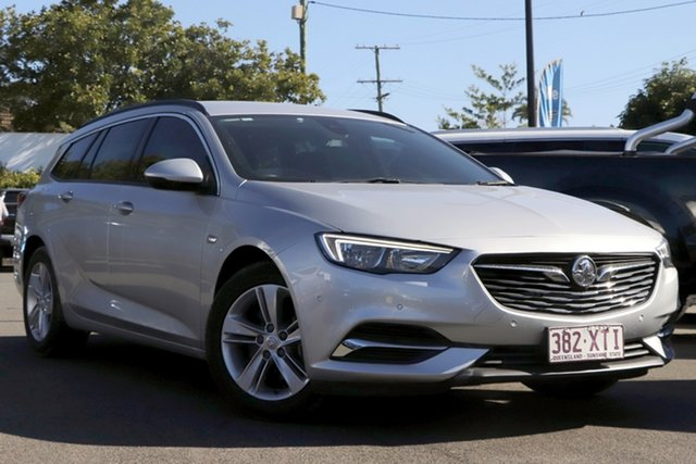 Used Holden Commodore ZB MY18 LT Sportwagon Mount Gravatt, 2017 Holden Commodore ZB MY18 LT Sportwagon Silver 9 Speed Sports Automatic Wagon