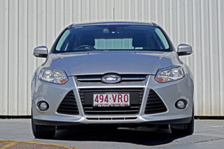2014 Ford Focus LW MkII Trend PwrShift Silver 6 Speed Sports Automatic Dual Clutch Hatchback.