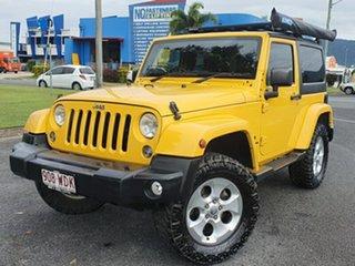 2015 Jeep Wrangler JK MY2015 Overland Yellow 5 Speed Automatic Hardtop.