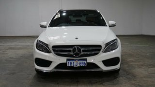 2017 Mercedes-Benz C-Class S205 807+057MY C250 Estate 9G-Tronic White 9 Speed Sports Automatic Wagon