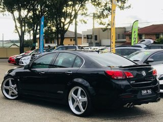 2014 Holden Commodore VF MY14 SS V Black 6 Speed Sports Automatic Sedan.