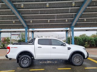 2020 Ford Ranger PX MkIII 2021.25MY FX4 Max Arctic White 10 Speed Sports Automatic.