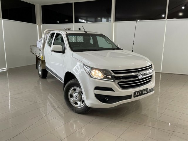 Used Holden Colorado RG MY19 LS Space Cab Deer Park, 2019 Holden Colorado RG MY19 LS Space Cab White 6 Speed Sports Automatic Cab Chassis