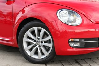 2014 Volkswagen Beetle 1L MY14 Coupe DSG Tornado Red 7 Speed Sports Automatic Dual Clutch Liftback.