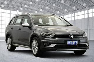 2018 Volkswagen Golf 7.5 MY18 Alltrack DSG 4MOTION 132TSI Premium Indium Grey 6 Speed.