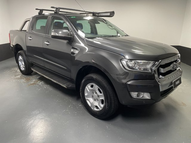 Used Ford Ranger PX MkII 2018.00MY XLT Double Cab Hamilton, 2018 Ford Ranger PX MkII 2018.00MY XLT Double Cab Magnetic 6 Speed Manual Utility