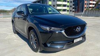 2018 Mazda CX-5 KF2W7A Maxx SKYACTIV-Drive FWD Sport Black 6 Speed Sports Automatic Wagon.