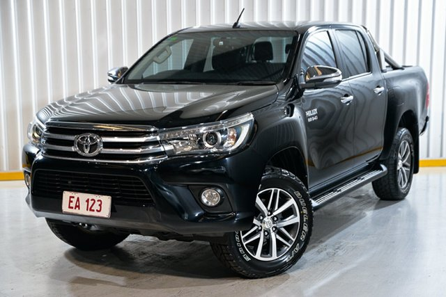 Used Toyota Hilux GGN25R MY14 SR5 Double Cab Hendra, 2015 Toyota Hilux GGN25R MY14 SR5 Double Cab Black 5 Speed Automatic Utility