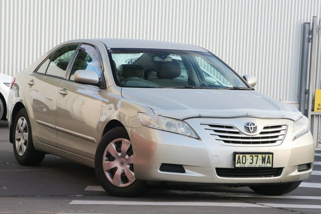 Used Toyota Camry ACV40R Altise Wollongong, 2007 Toyota Camry ACV40R Altise Silver 5 Speed Automatic Sedan