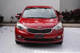 2015 Kia Cerato YD MY15 S Premium Red 6 Speed Sports Automatic Sedan.