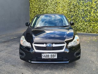 2014 Subaru Impreza G4 MY14 2.0i AWD Black 6 Speed Manual Hatchback.