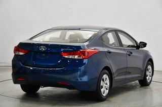 2014 Hyundai Elantra MD3 Active Blue 6 Speed Sports Automatic Sedan