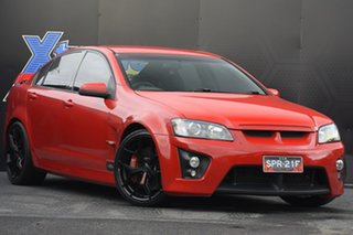 2007 Holden Special Vehicles ClubSport E Series R8 Red 6 Speed Manual Sedan.