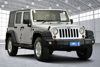 2009 Jeep Wrangler JK MY2010 Unlimited Sport Silver 6 Speed Manual Softtop.
