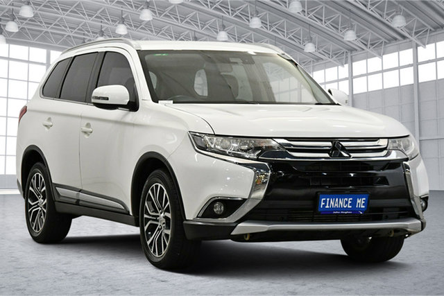 Used Mitsubishi Outlander ZK MY17 LS 4WD Safety Pack Victoria Park, 2016 Mitsubishi Outlander ZK MY17 LS 4WD Safety Pack White 6 Speed Sports Automatic Wagon