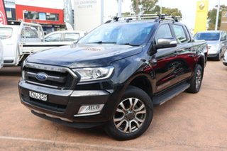 2018 Ford Ranger PX MkII MY18 Wildtrak 3.2 (4x4) Black 6 Speed Automatic Dual Cab Pick-up.