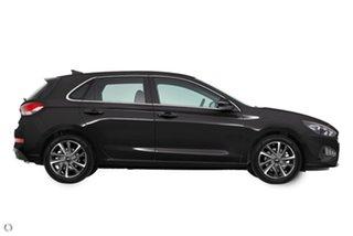 2021 Hyundai i30 PD.V4 MY21 Active Black 6 Speed Sports Automatic Hatchback.
