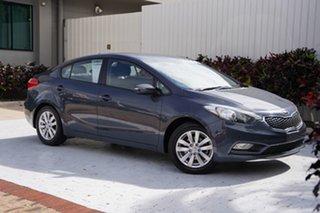 2015 Kia Cerato YD MY15 S Premium Blue 6 Speed Sports Automatic Sedan.