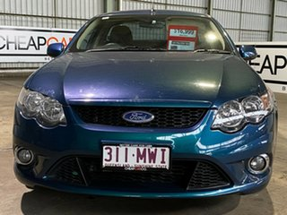 2010 Ford Falcon FG XR6 Ute Super Cab Green 5 Speed Sports Automatic Utility