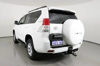 2012 Toyota Landcruiser Prado GRJ150R 11 Upgrade GXL (4x4) White 5 Speed Sequential Auto Wagon