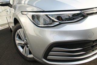 2021 Volkswagen Golf 8 MY21 110TSI Silver 6 Speed Manual Hatchback.