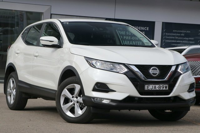 Used Nissan Qashqai J11 Series 3 MY20 ST+ X-tronic Homebush, 2020 Nissan Qashqai J11 Series 3 MY20 ST+ X-tronic Ivory Pearl 1 Speed Constant Variable Wagon