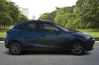 2021 Mazda 2 DJ2HAA G15 SKYACTIV-Drive Pure Eternal Blue 6 Speed Sports Automatic Hatchback.