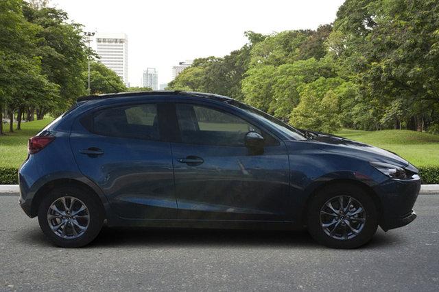 Demo Mazda 2 DJ2HAA G15 SKYACTIV-Drive Pure Paradise, 2021 Mazda 2 DJ2HAA G15 SKYACTIV-Drive Pure Eternal Blue 6 Speed Sports Automatic Hatchback