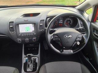 2017 Kia Cerato YD MY17 Sport Red 6 Speed Sports Automatic Sedan