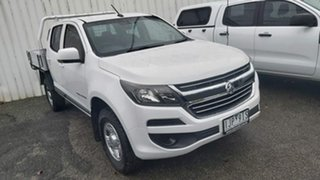 2016 Holden Colorado RG MY17 LS Crew Cab White 6 Speed Sports Automatic Cab Chassis.