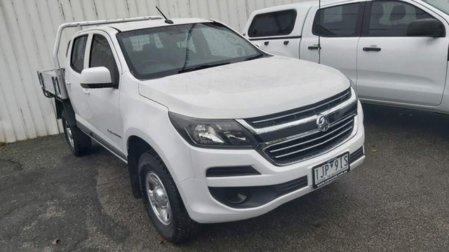 Used Holden Colorado RG MY17 LS Crew Cab Wodonga, 2016 Holden Colorado RG MY17 LS Crew Cab White 6 Speed Sports Automatic Cab Chassis