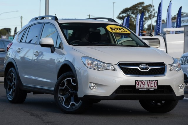 Used Subaru XV G4X MY14 2.0i-L Lineartronic AWD Aspley, 2014 Subaru XV G4X MY14 2.0i-L Lineartronic AWD White 6 Speed Constant Variable Wagon