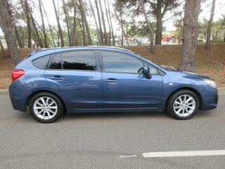 2013 Subaru Impreza G4 MY13 2.0i-L Lineartronic AWD Blue 6 Speed Constant Variable Hatchback.