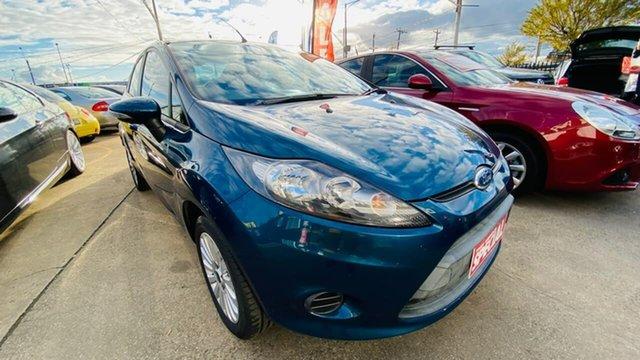 Used Ford Fiesta WT LX Maidstone, 2010 Ford Fiesta WT LX Green 5 Speed Manual Sedan