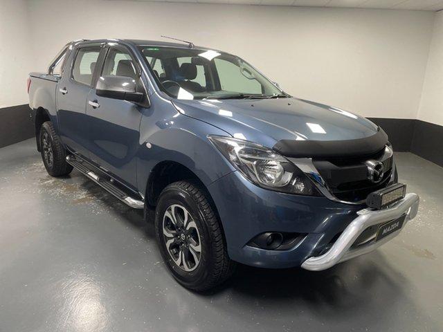 Used Mazda BT-50 UR0YG1 XTR Hamilton, 2018 Mazda BT-50 UR0YG1 XTR Blue 6 Speed Sports Automatic Utility