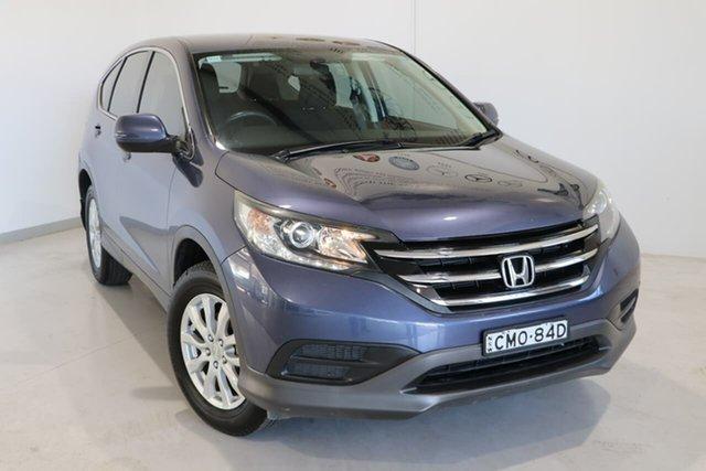 Used Honda CR-V RM VTi Wagga Wagga, 2012 Honda CR-V RM VTi Blue 5 Speed Automatic Wagon