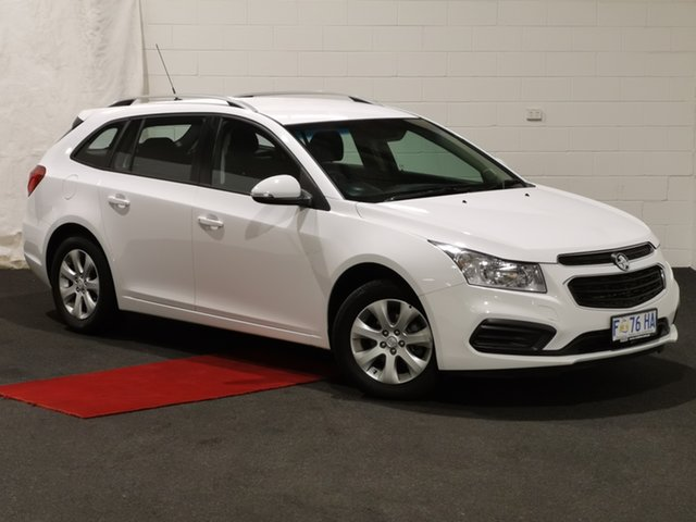 Used Holden Cruze JH Series II MY16 CD Sportwagon Glenorchy, 2016 Holden Cruze JH Series II MY16 CD Sportwagon Summit White 6 Speed Sports Automatic Wagon