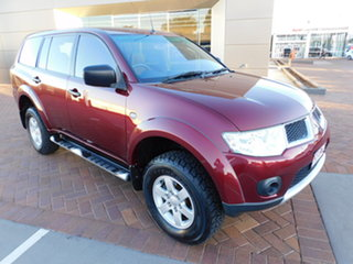 2012 Mitsubishi Challenger PB (KG) MY13 2WD Red 5 Speed Sports Automatic Wagon.