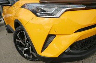 2018 Toyota C-HR NGX50R Koba S-CVT AWD Yellow 7 Speed Constant Variable Wagon.