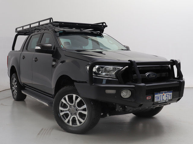 Used Ford Ranger PX MkII Wildtrak 3.2 (4x4), 2016 Ford Ranger PX MkII Wildtrak 3.2 (4x4) Grey 6 Speed Manual Dual Cab Pick-up