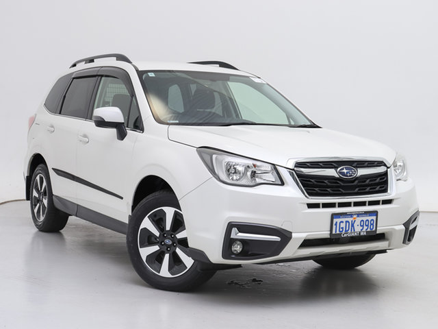 Used Subaru Forester MY16 2.5I-L, 2016 Subaru Forester MY16 2.5I-L White Continuous Variable Wagon