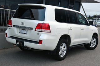 2010 Toyota Landcruiser UZJ200R MY10 Sahara White 5 Speed Sports Automatic Wagon.