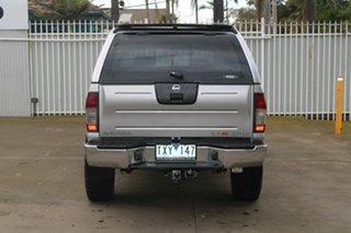 2004 Nissan Navara D22 ST-R (4x4) Silver 5 Speed Manual Dual Cab Pick-up
